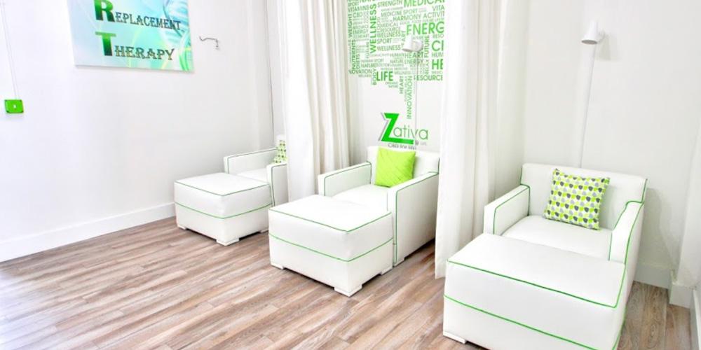 Zativa Life Health and Wellness IV Lounge chairs